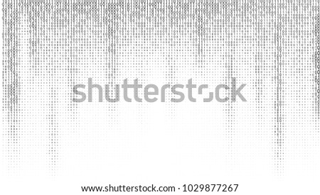 gradient binary code digits