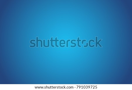 Gradient Blue Background. Vector illustration.