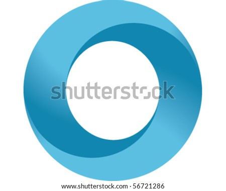 Gradient Circle - stock vector