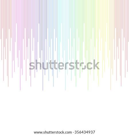 Gradient Color Spectrum Background Vector