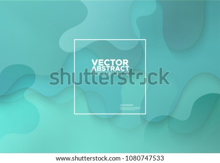 Gradient covers design. Colorful Fluid shapes composition. Future geometric patterns. Vector illustration.