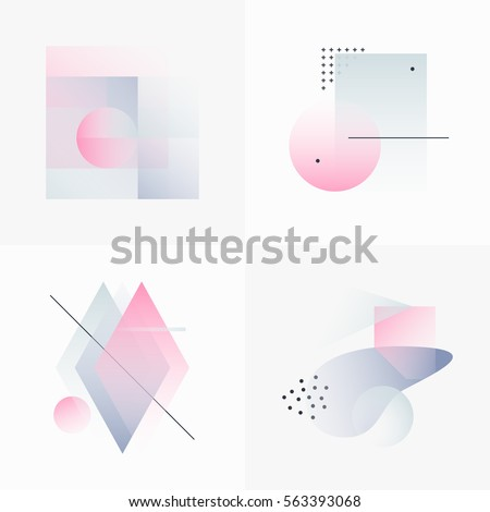 gradient geometry forms