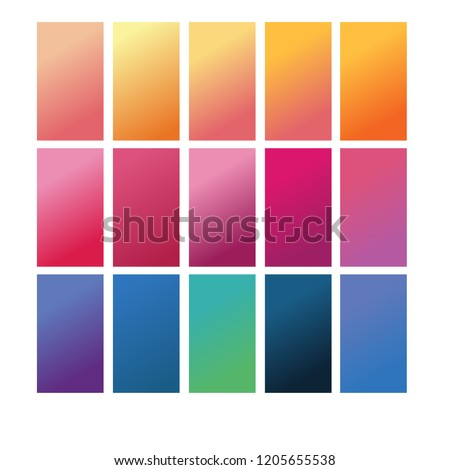 gradient mobile wallpaper vector