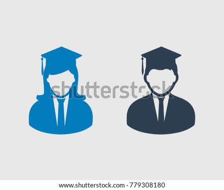 white graduate vector icons download free vector art stock