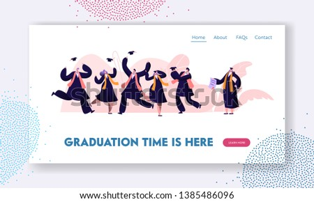 graduating students in gowns