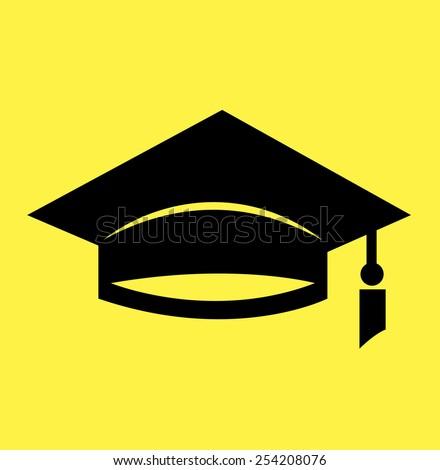 Graduation cap icon (University icon)