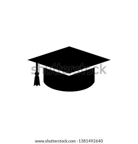 Graduation Cap Icon Vector Illustration