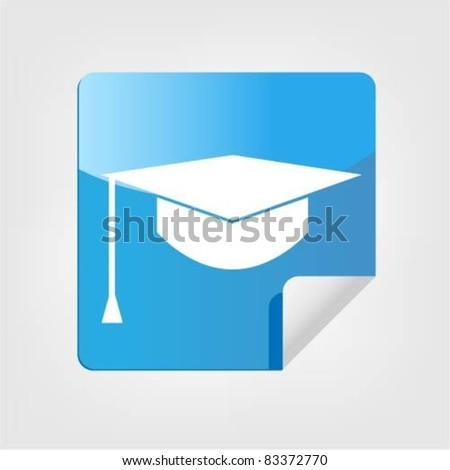 Graduation cap Sticker