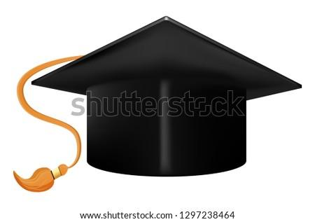 Graduation Cap Vector Stok fotoğraf ©
