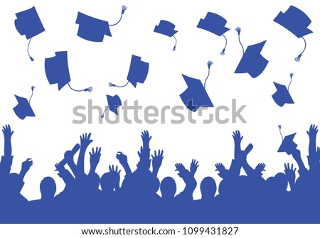 graduation day students happy background
