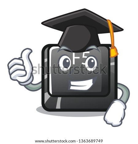 Graduation f5 installed on the mascot computer