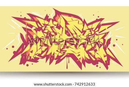 graffiti abstract background