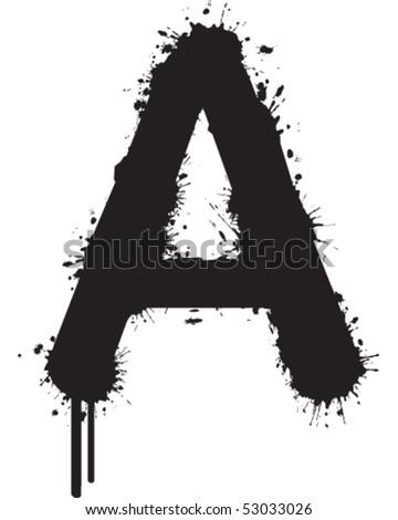 graffiti font styles. graffiti font numbers. stock