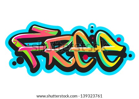 graffiti vector art urban