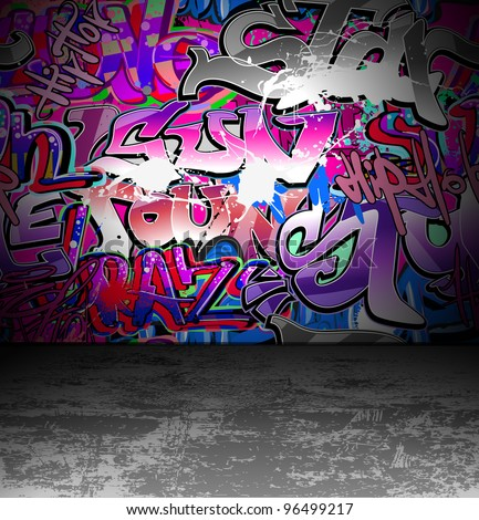 graffiti wall grunge urban