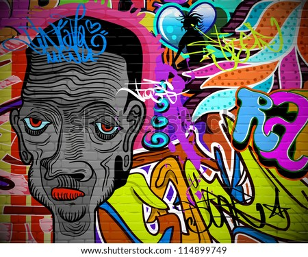 graffiti wall urban art