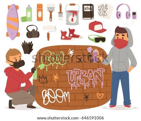 graffiti yarnbombing artist man