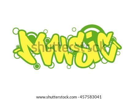 graffity lettering urban street