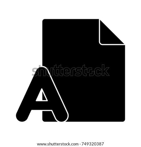 grammar letter file icon