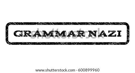 grammar nazi watermark stamp