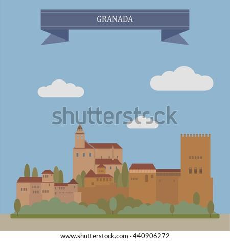 granada  city and the capital