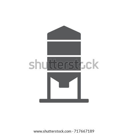 Granary Icon on the white background.