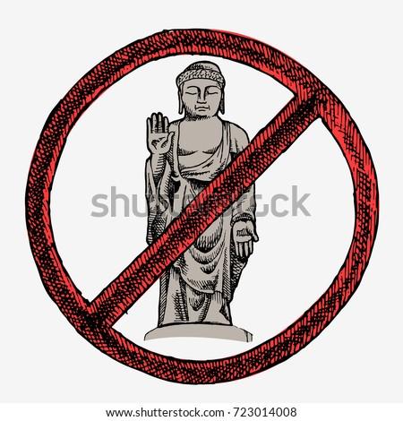 grand buddha no buddhism hand