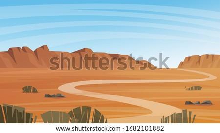 grand canyon desert landscape