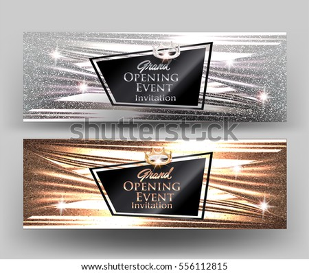 grand opening elegant cards