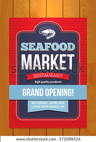 grand opening seafood market