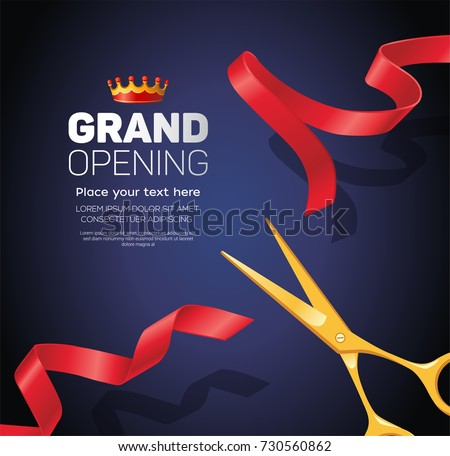 grand opening template   modern