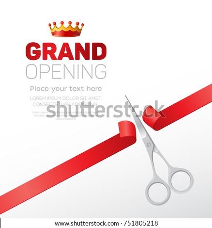 grand opening template   modern