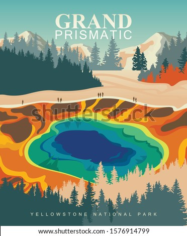 grand prismatic spring on