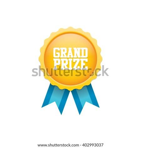 Grand Prize Badge Medal