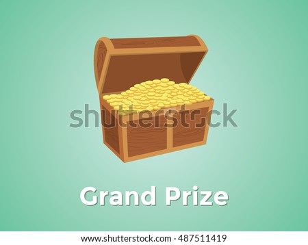 grand prize prizes with green