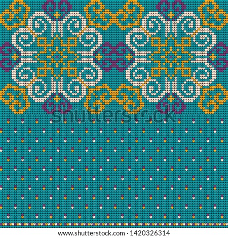 Grandmas knitting pattern for Christmas Ugly Sweater