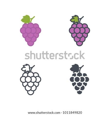 Grape food icon