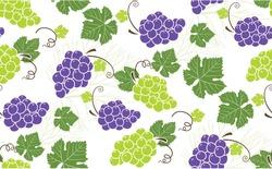 grape pattern saemless vectors