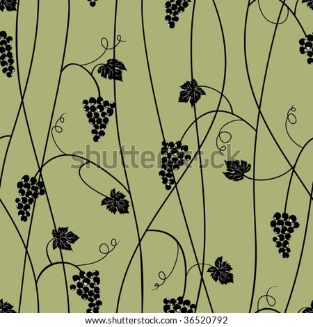 Grape seamless pattern