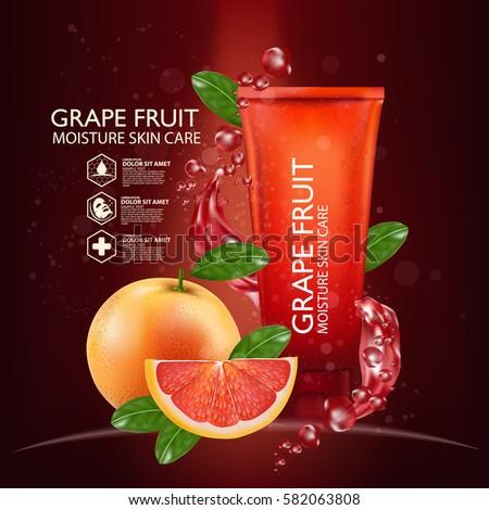 grapefruit serum moisture skin