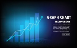 graph candle stick graph chart of stock market investment trading, Bullish point, Bearish point. trend of graph vector design.