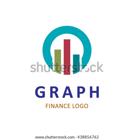 graph finance abstract vector