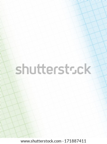 Graph Paper Frame Background with copy space