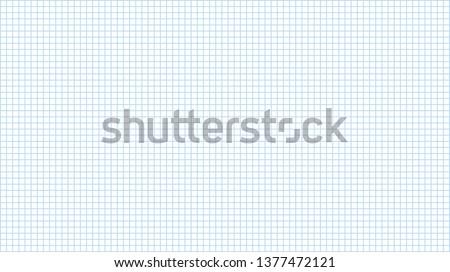 Graph paper icon. Vector illustration