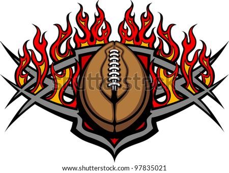 graphic american football