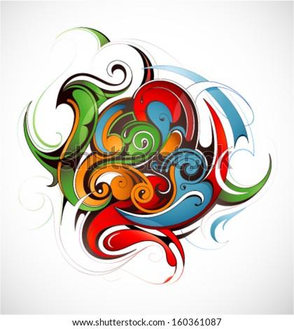 graphic design element color