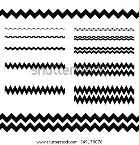 stock-vector-graphic-design-elements-zigzag-line-page-divider-set