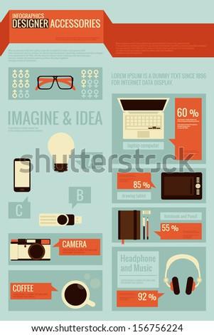 graphic designer infographics