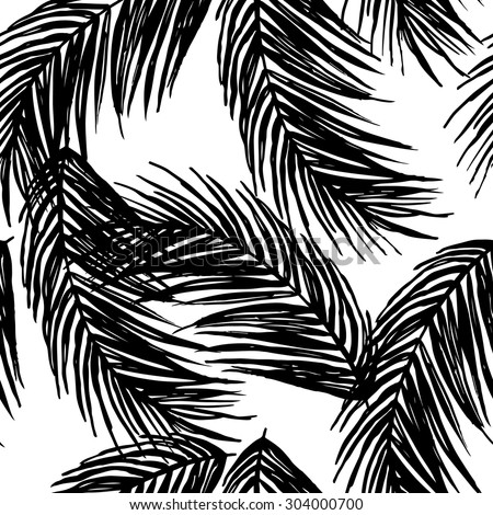 graphic pattern with palm