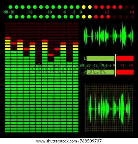 graphic representation of sound ...